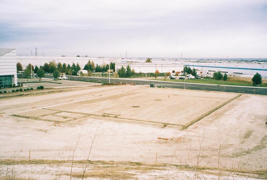 Looking Northeast