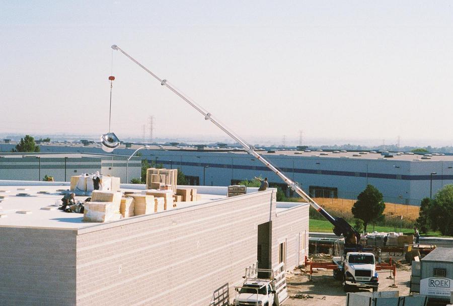 Stocking Roof Equipment